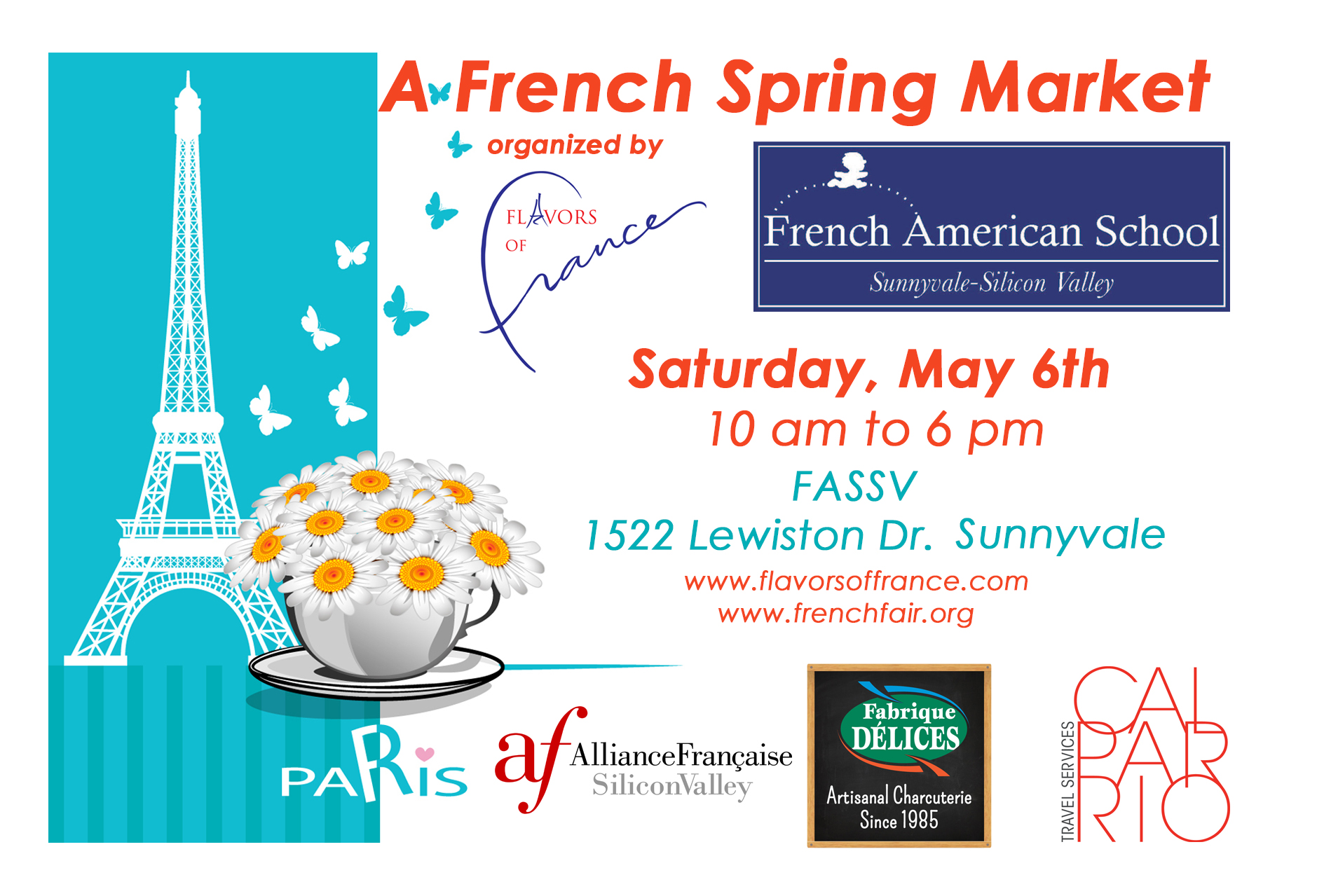 A Spring French Market